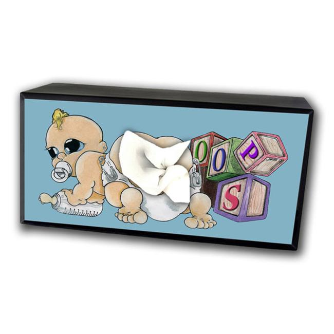 Caravelle TC-4015 Baby Butt Tissue Box Cover