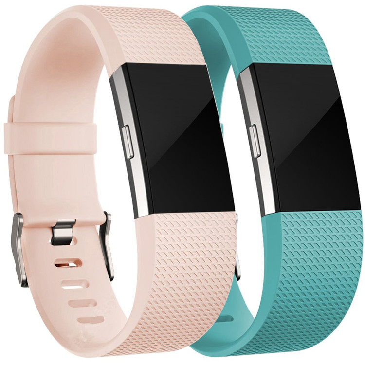 For Fitbit Charge 2 Bands(2 Pack), Oak Leaf Replacement Accessory Wristbands for Fitbit Charge 2 HR,Small Large
