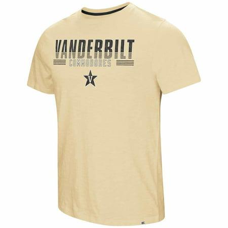 Vanderbilt Commodores Adult NCAA Million Dollar Arm Short Sleeve T-Shirt  - Gold