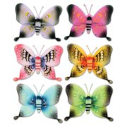 The Beistle Company Majestic Butterflies Standup