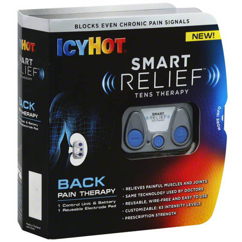 Icy Hot Smart Relief TENS Therapy Back Pain Starter Kit, 2 pc