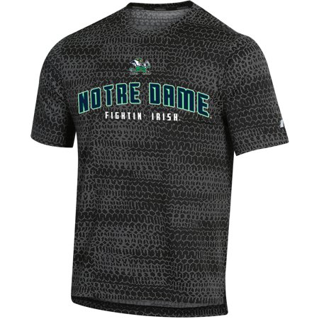 Men's Russell Black Notre Dame Fighting Irish Synthetic T-Shirt