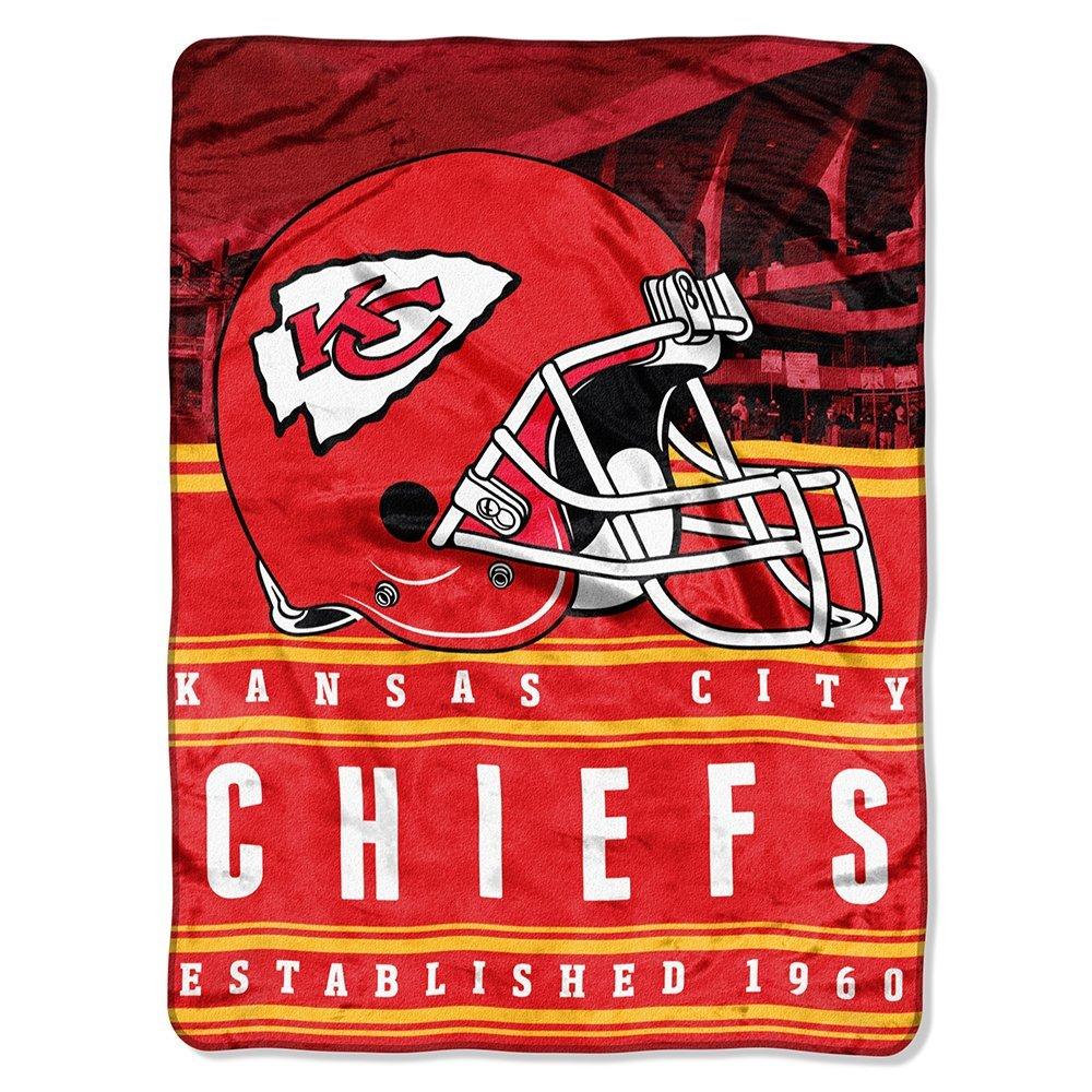 "NFL Kansas City ""Stacked"" 60"" x 80"" Silk Touch Throw"