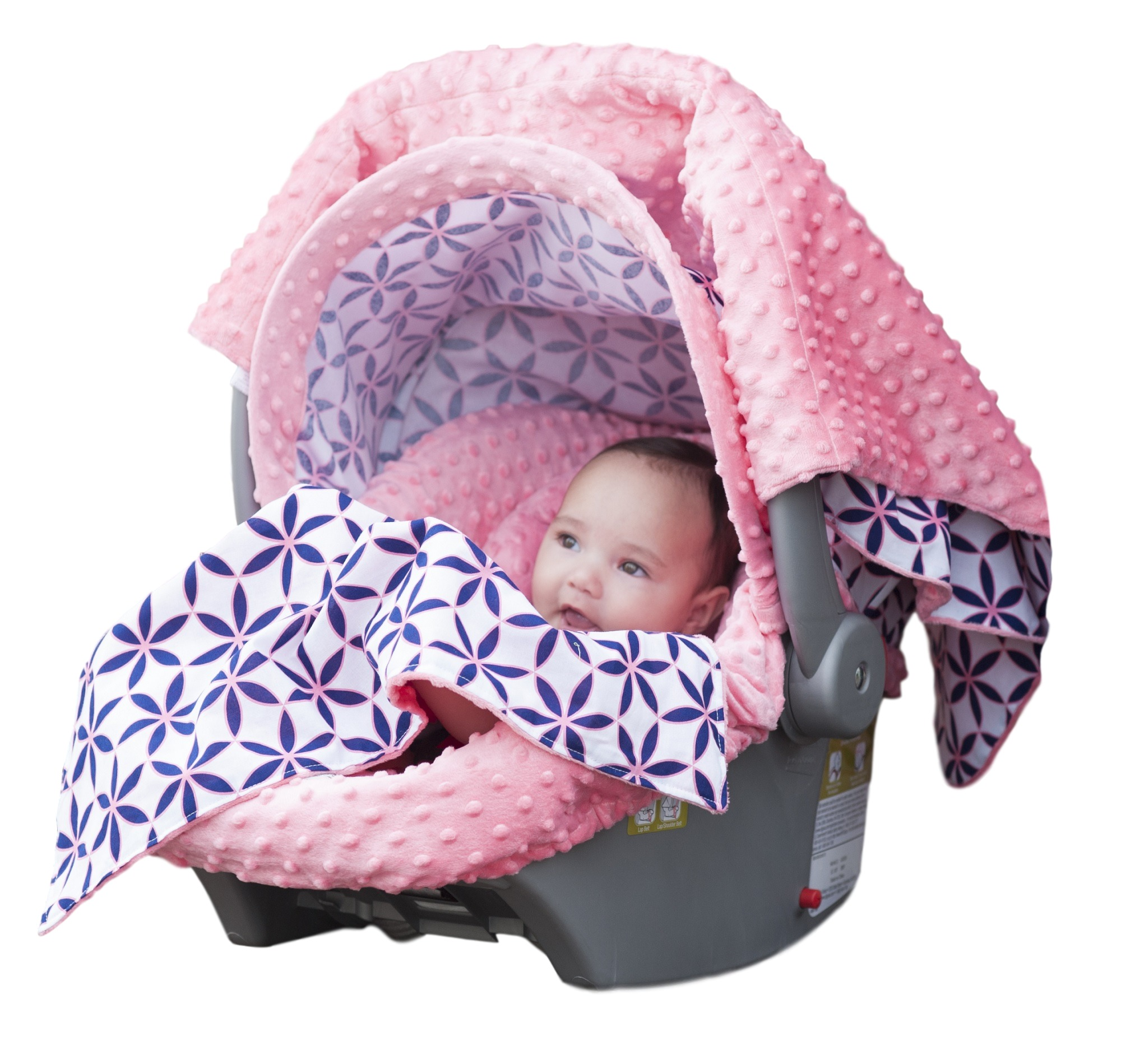 Carseat Canopy 5 pc Whole Caboodle Baby Car seat Cover set - Minky Kendra  sc 1 st  Walmart & Carseat Canopy 5 pc Whole Caboodle Baby Car seat Cover set - Minky ...