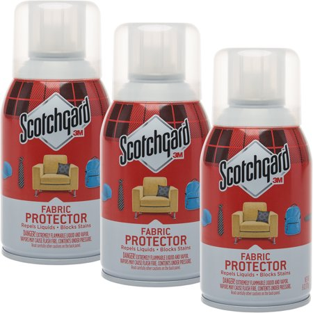 (Scotchgard3 Pack 3M Fabric 6oz Protector Spray Block Furniture & Upholstery Protection for Stains)