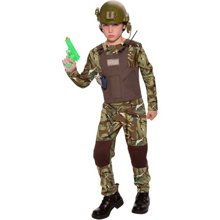 delta force child halloween costume - Halloween Army Costumes