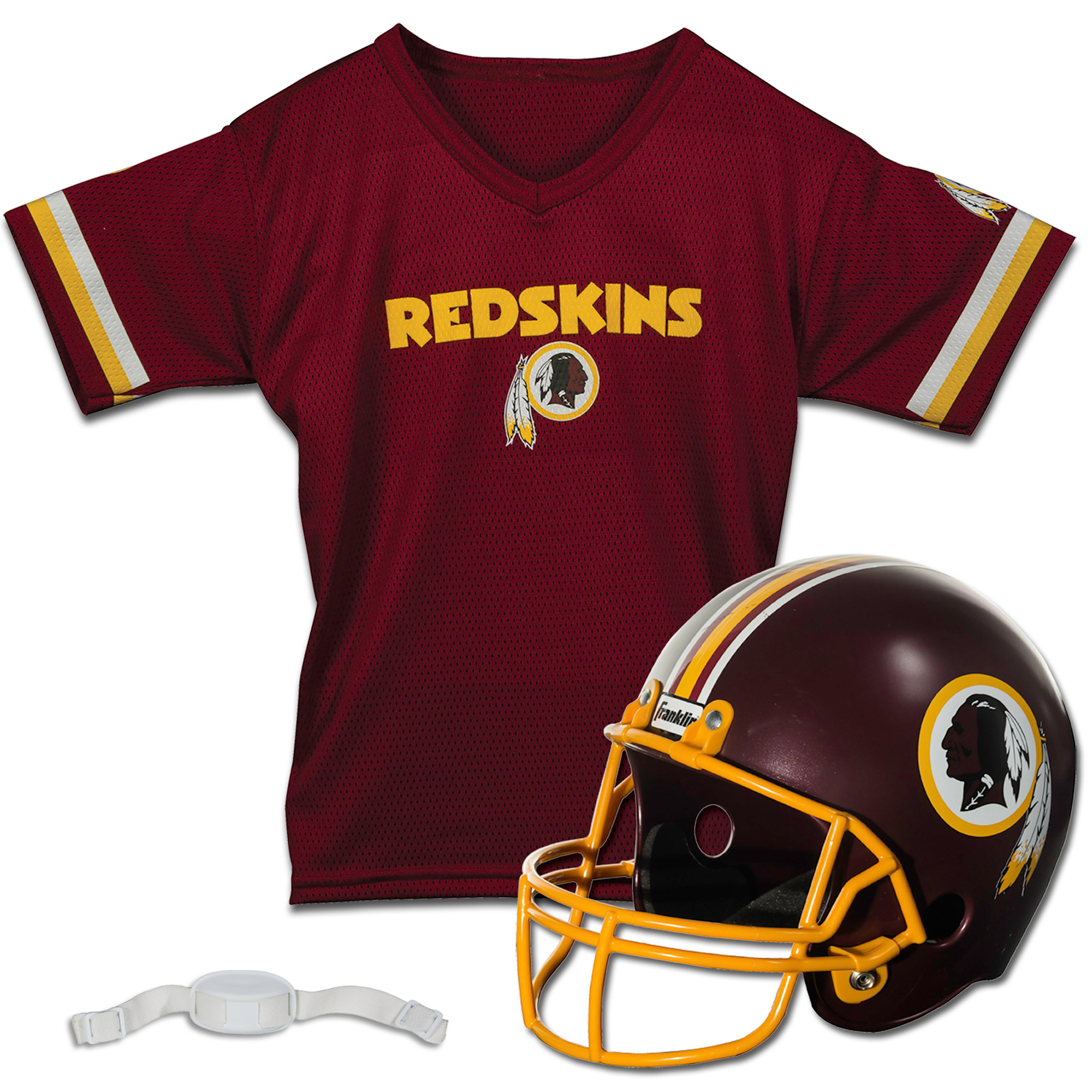 Washington Redskins Franklin Sports Youth Helmet and Jersey Set - No Size