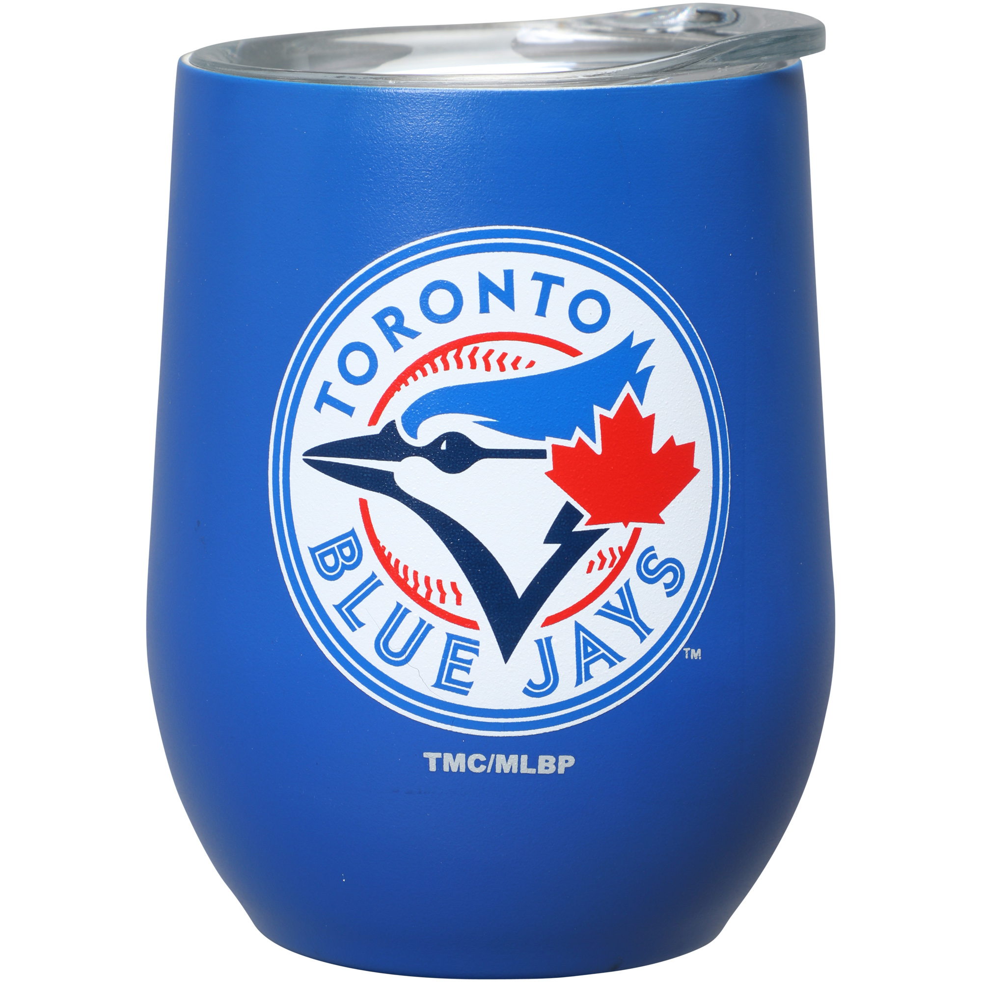Toronto Blue Jays 15oz. Matte Stainless Steel Stemless Tumbler - No Size