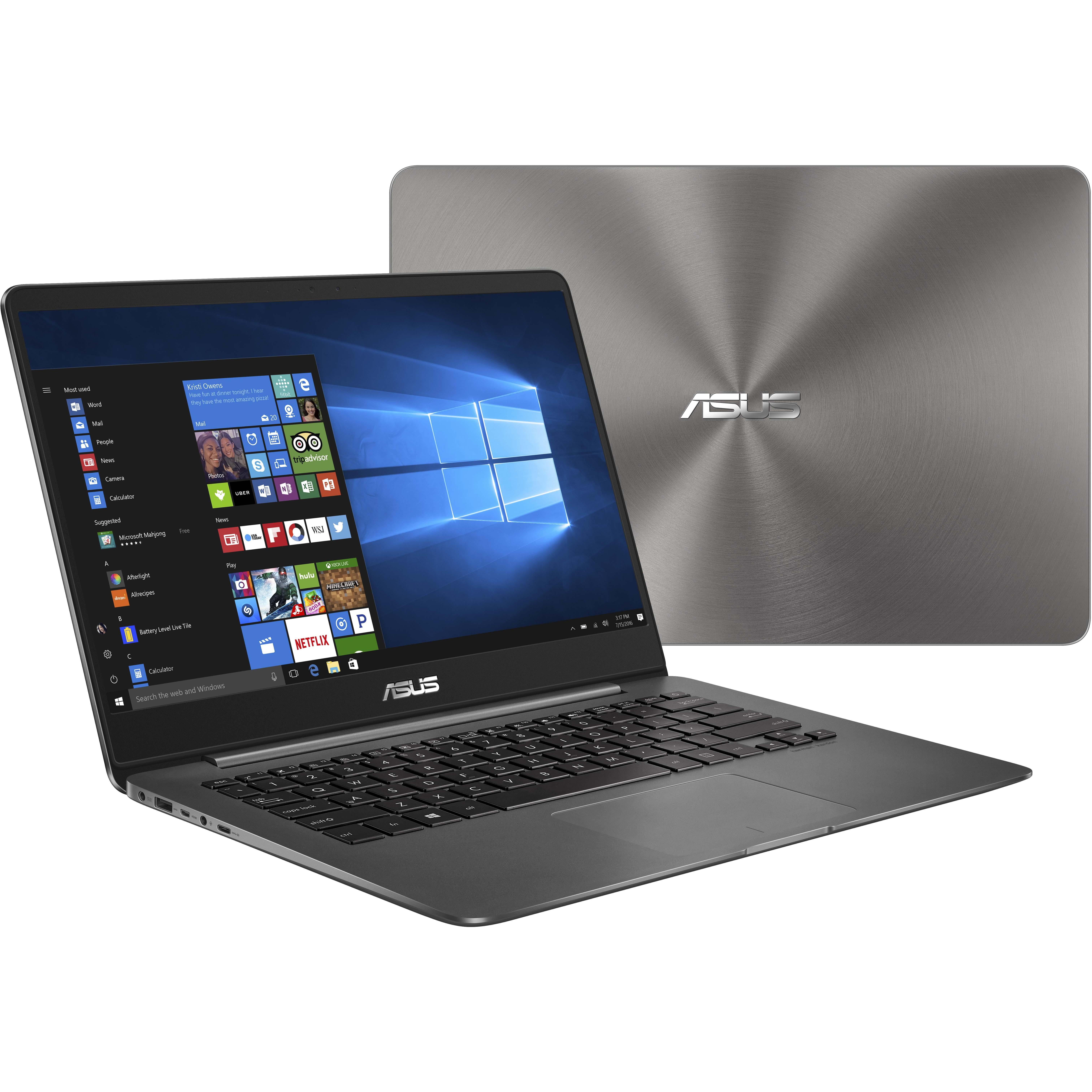 Asus ZENBOOK UX430UA-DH74 Core i7-8550U 16GB 512GB SSD 1920 x 1080 14