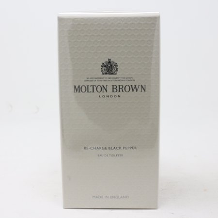 Re-Charge Black Pepper by Molton Brown Eau De Toilette 3.4oz Spray New With (Molton Brown Cool Buchu Eau De Toilette 50ml)