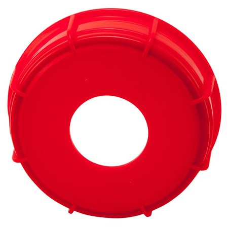 Dynalon 405564-0011 Closure Screw with Hole PP,Red - image 1 of 1