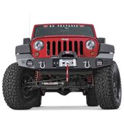 Elite Series Front Jk Jeep Bumper without Grill Guard Tube