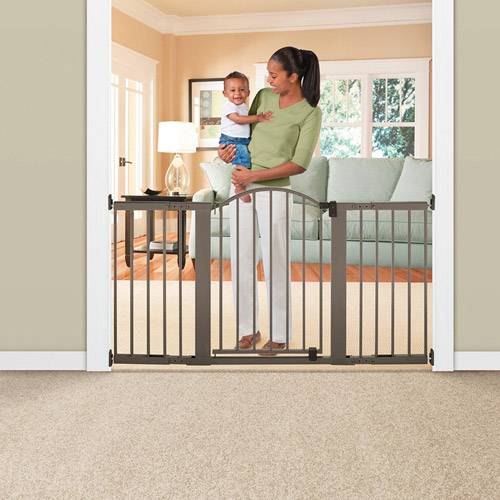 Summer Infant - Stylish 6-Foot Metal Expansion Gate, Extra-Tall