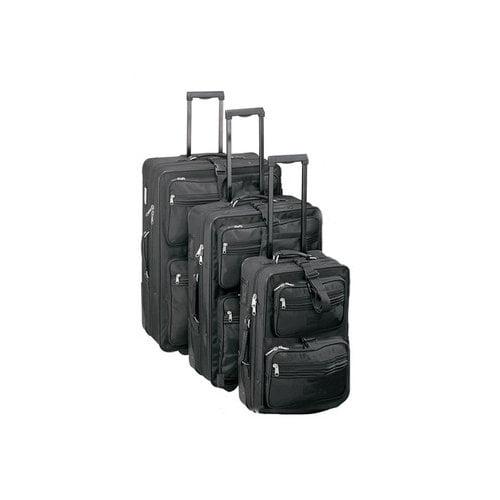 Preferred Nation High Voltage Upright 3 Piece Luggage Set