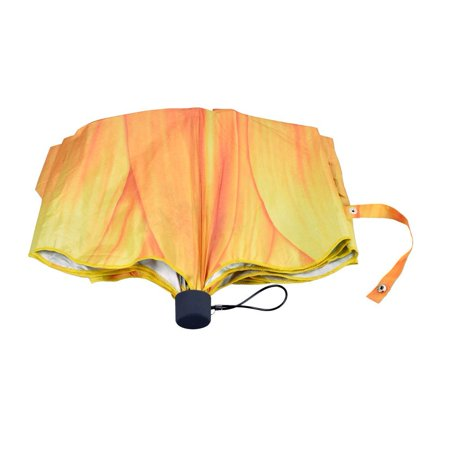 Sunflower Resin - Women Folding Umbrella Compact Sunflower Travel Anti UV Rain Sun Portable Ladies
