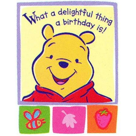 Winnie the Pooh 'Faces' Invitations w/ Env. (8ct)](Winnie The Pooh Invitations)