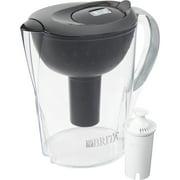 Brita Pacifica Water Filter Pitcher, 10 Cup - Black
