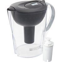Brita Pacifica Water Filter Pitcher, 10 Cup - Black