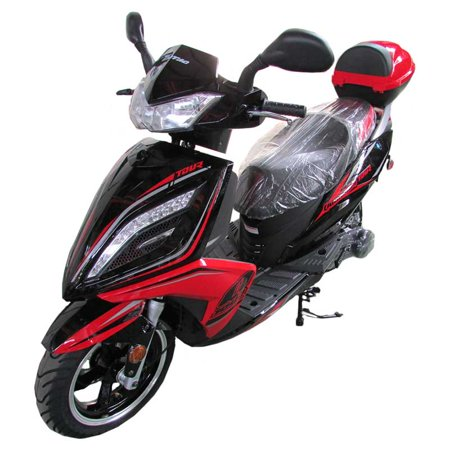 RED Taotao Quantum Tour 150cc Gas Street Legal Scooter