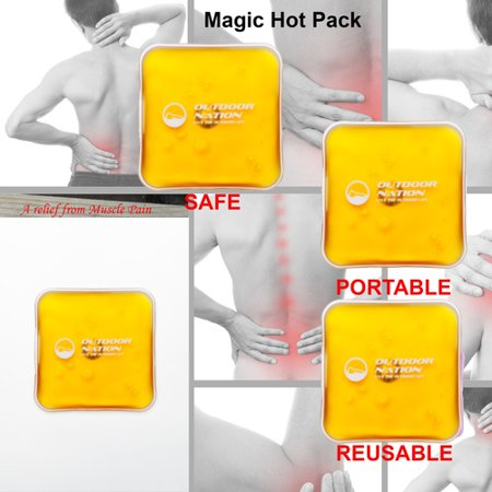 8 Pack Outdoor Nation Reusable Portable Heating Packs