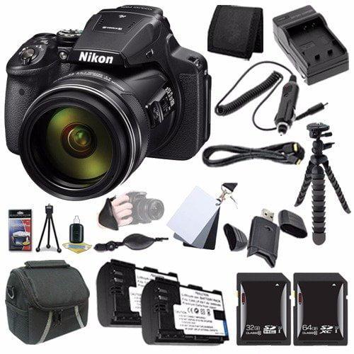 Nikon COOLPIX P900 16MP Digital Camera Bundle with Case a...