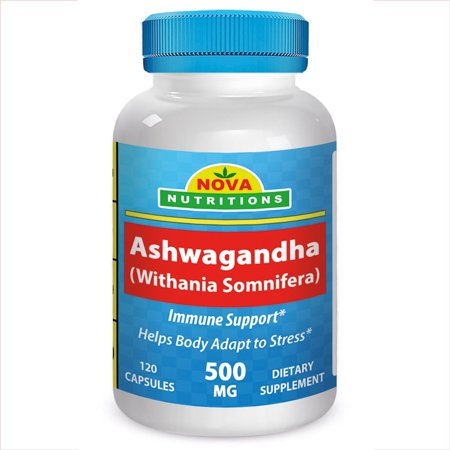 Nova Nutritions Ashwagandha 500 Mg 120 Capsules