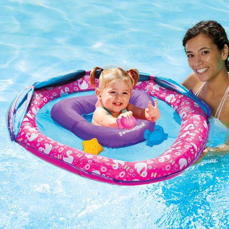Swan Babyboat with Perfect Fit Seat with 3 Toys