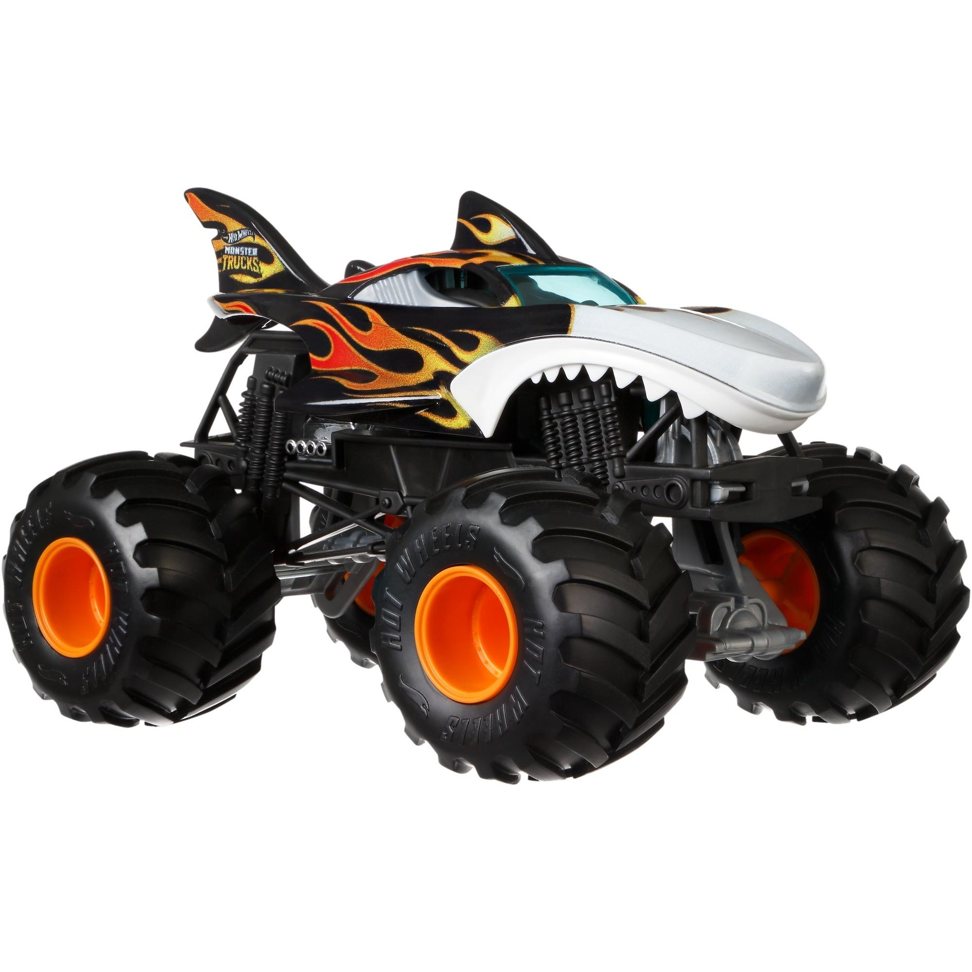 Hot Wheels Monster Trucks 1:24 Scale Shark Wreak by Mattel
