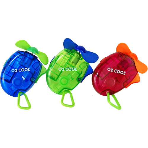 O2 Cool Carabiner Water Misting Fan