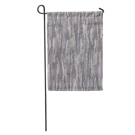 POGLIP Beige Camouflage Abstract Worn Effect Striped Pattern Grey Irregular Noisy Garden Flag Decorative Flag House Banner 12x18 inch - image 1 de 2