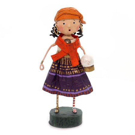 Lori Mitchell GYPSY ROSE Polyresin Fortune Teller Halloween 11102 (Fortune Teller Halloween Decoration)