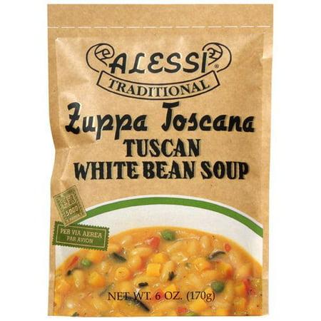 Spring Pea Soup ((2 Pack) Vigo Alessi Zuppa Toscana Tuscan White Bean Soup, 6 Ounce )