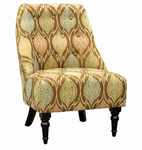 Amelia Club Chair Mosaic Fabric