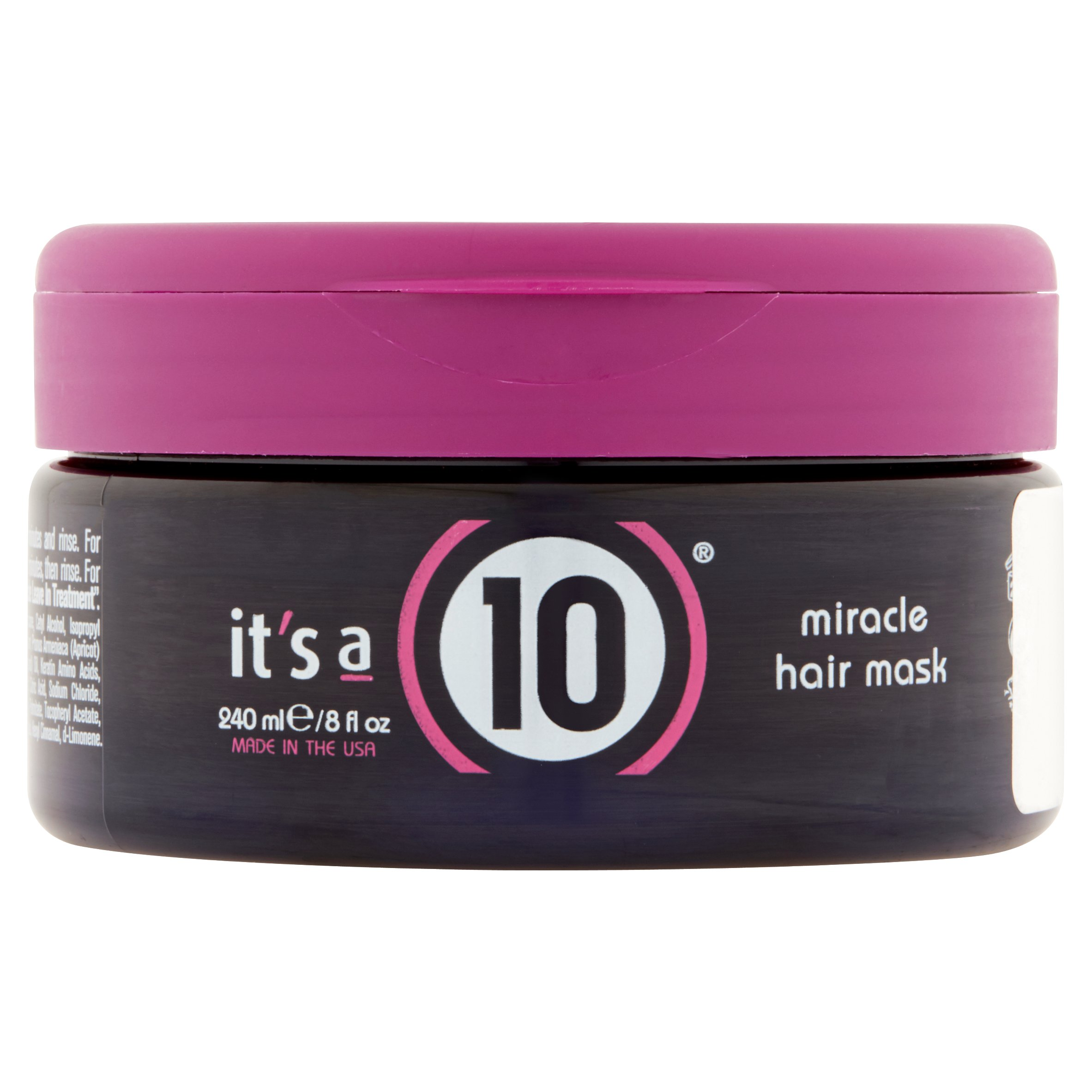 It's a 10 Miracle Hair Mask, 8 Fl Oz