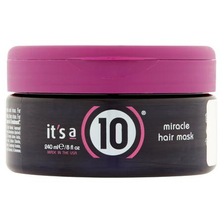 It's a 10 Miracle Hair Mask, 8 Fl Oz
