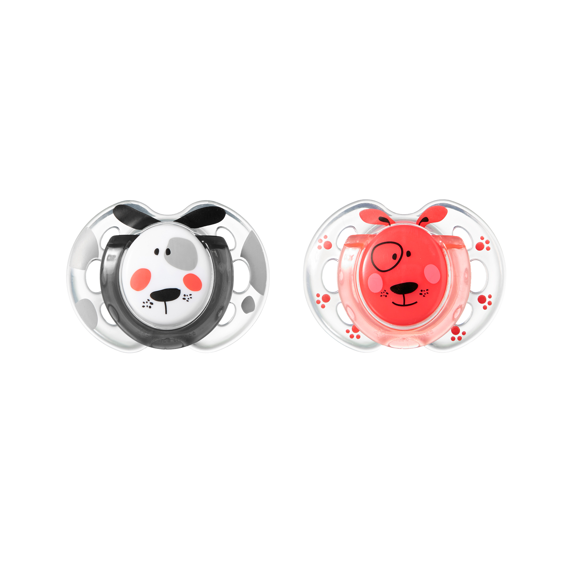 Tommee Tippee Fun Style Pacifier, 0-6 mo., 2 pk. Colors, Characters, Theme May Vary by Tommee Tippee
