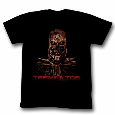Terminator Movies Code Red Adult Short Sleeve T Shirt