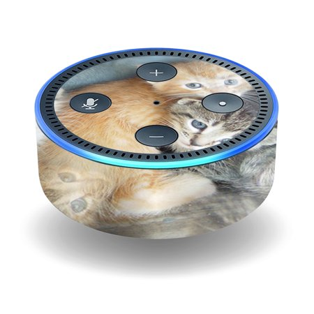 Skin Decal Wrap For Amazon Echo Dot  2Nd Generation  Stickers Kittens