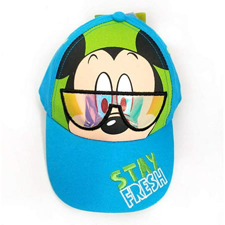 Baseball Cap - Disney - Mickey Mouse Stay Fresh Sunglasses Boys 383630