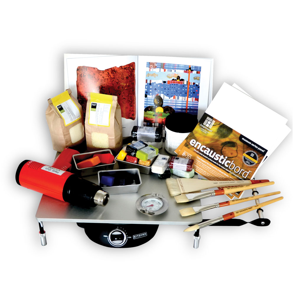 R&F Encaustic Studio Kit