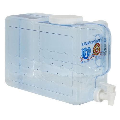 Arrow H2O 2.5-Gal Slimline Beverage Dispenser, Blue