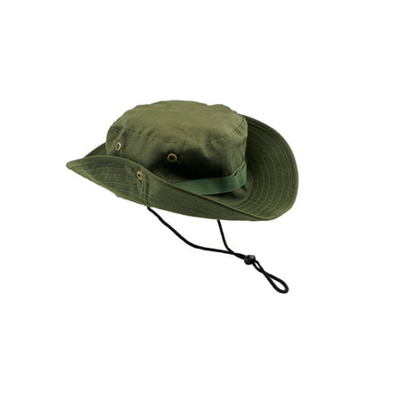 1bf7f8818 Fishing Hunting Bucket Hat Boonie Outdoor Cap Washed Cotton Safari Summer  Men - Walmart.com