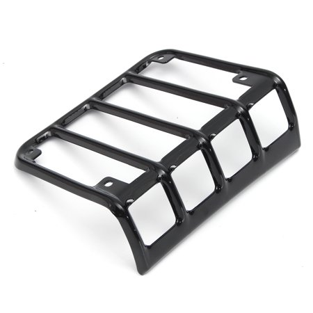 6Pcs Stainless Steel Black Headlight Guards + Turn jeepaccessorie Signal/Tail Light Covers For JK - image 1 of 9