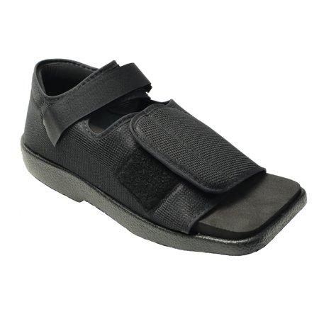 Foot Gloves Shoes - NEW Post Op Broken Toe Foot Fracture Square Toe Walking Shoe - Womens