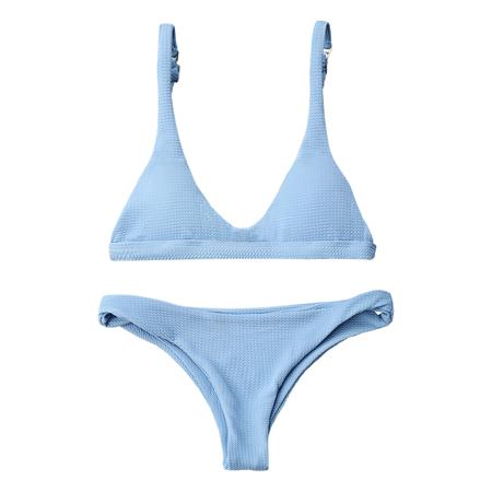 27f0d1eaca Zaful - Womens Adjustable Strap Swimsuits,2 Pcs Thong Bikini Bathing ...