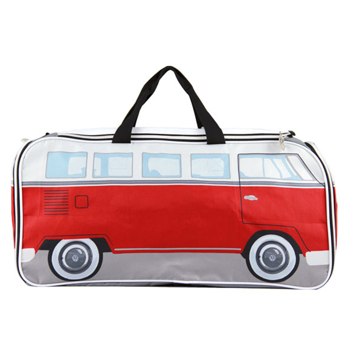 VW Sports Gym Travel Bag-Red by