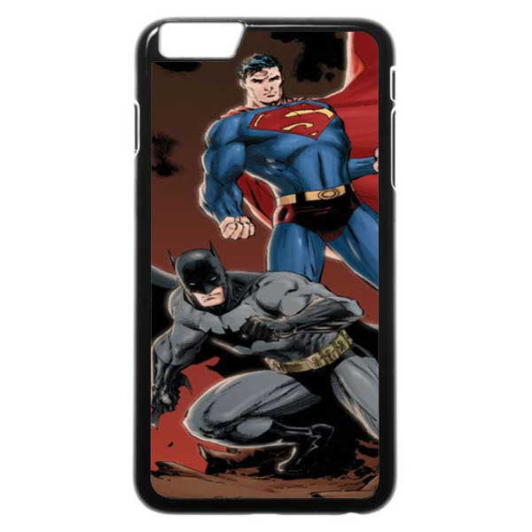 Superman And Batman iPhone 6 Plus Case