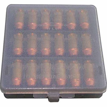 MTM HANDGUN AMMO WALLET 45ACP 18RD POLY CLEAR