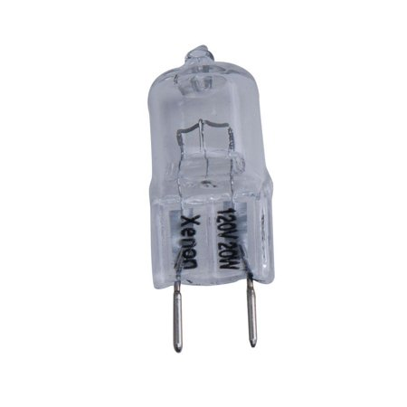 Hampton Bay G8 20w 120v Xenon Cabinet Replacement Light Bulb Dimmable JCD ()