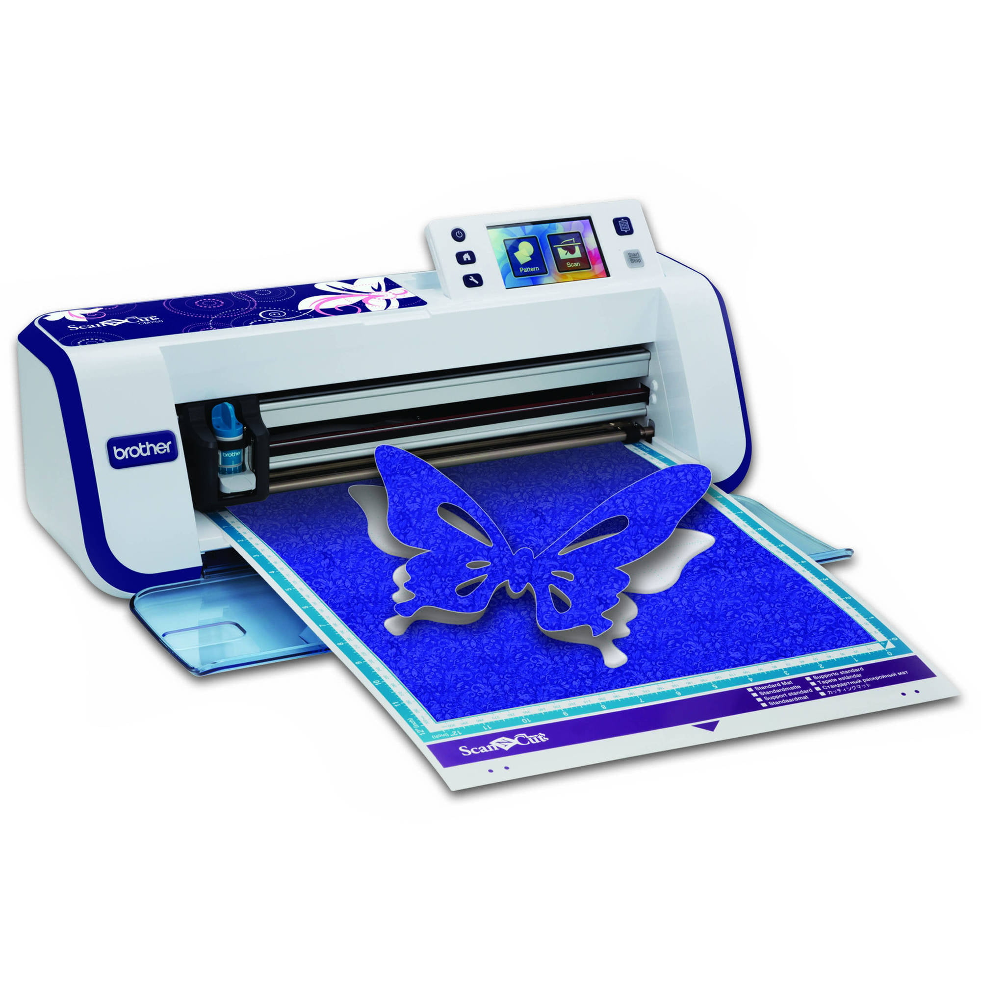 Brother CM250 Home and Hobby Cutting Machine with a Built-in Scanner and  Additional Accessories
